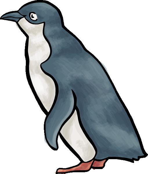 cartoon penguin clip art