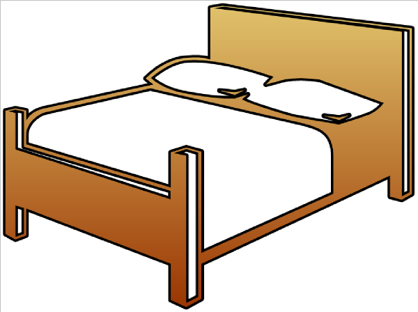 Perfect Cartoon Bed Clip Art 600 x 448 · 55 kB · png