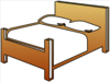 Bed Cutout Clip Art