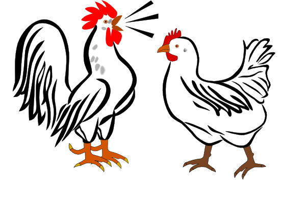 free clip art rooster - photo #23