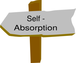 Self-absorption Clip Art