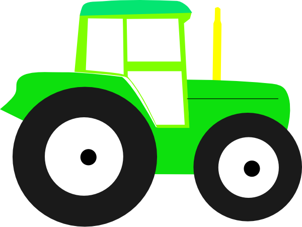 tractor clip art at clker com vector clip art online royalty free rh clker com free tractor clipart black and white free clipart tractor trailer truck
