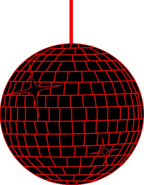 red disco ball clip art at clker com vector clip art online rh clker com disco ball clip art free disco ball clipart black and white