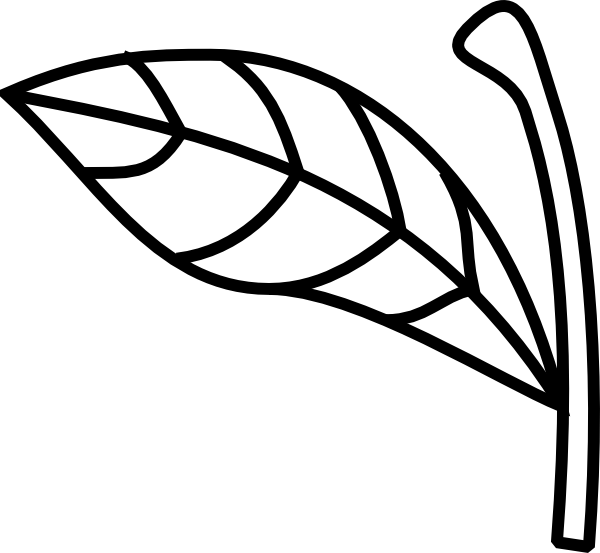 Apple Stem Leaf Clip Art at Clker.com - vector clip art ...