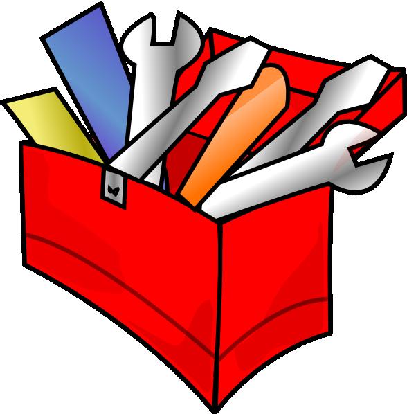 Red Toolbox Full Clip Art at Clker.com - vector clip art ...