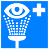 Eye Wash - Blue Clip Art