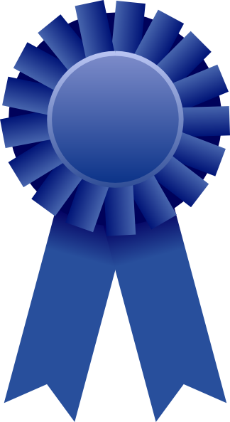Blue Ribbon Clip Art at Clker.com - vector clip art online, royalty ...