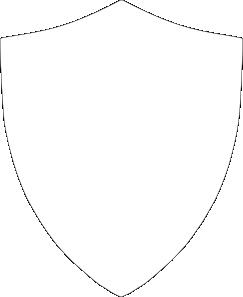 Shield Outline Clip Art