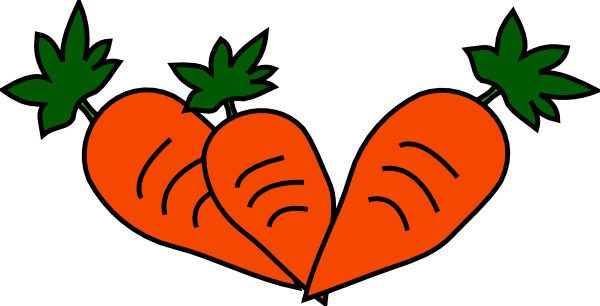 carrots clip art at clker com vector clip art online royalty free rh clker com carrots clipart png carrot clip art black and white