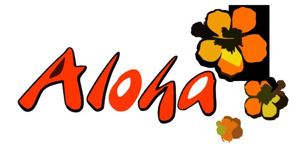 logo aloha clip art at clker com vector clip art online royalty rh clker com aloha clip art hawaiian aloha friday clipart