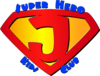 Super Hero Kids Club Clip Art