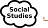 Social Studies Sign Clip Art
