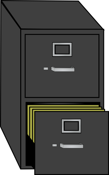 File Cabinet Clip Art at Clker.com - vector clip art ...