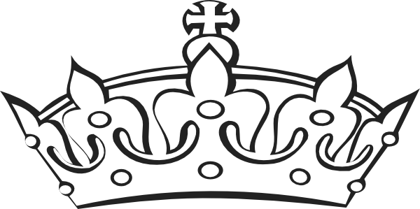 Line Art Crown : Princess crown clipart images frompo