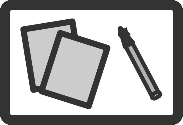 Student Desk Clip Art at Clkercom vector clip art online