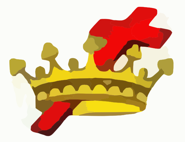 free cross and crown clipart - photo #26