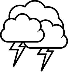 tango weather storm outline clip art at clker com vector clip rh clker com thunderstorm clouds clipart animated thunderstorm clipart
