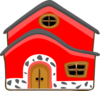 Casa Vermelha Red House Clip Art