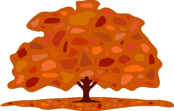 autumn tree clipart - photo #12