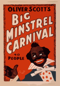 Oliver Scott S Big Minstrel Carnival 40 People. Clip Art