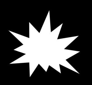 Pow White Clip Art at Clker.com - vector clip art online ...