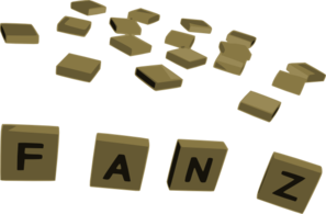 Crossword Letter Tiles Clip Art