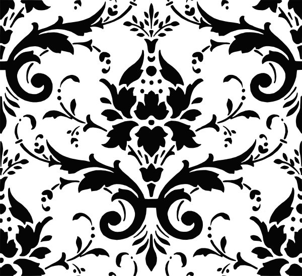 Damask Pattern clip art