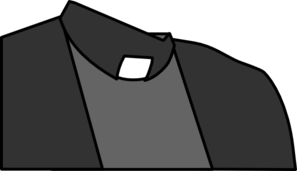 Priest Collar Shirt Clip Art