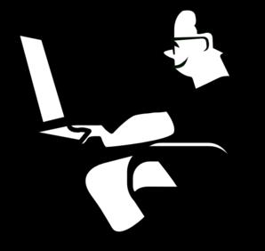 man using computer clip art at clker com vector clip art online rh clker com online clip art maker online clip art microsoft