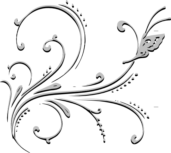 free black and white clip art borders - photo #36