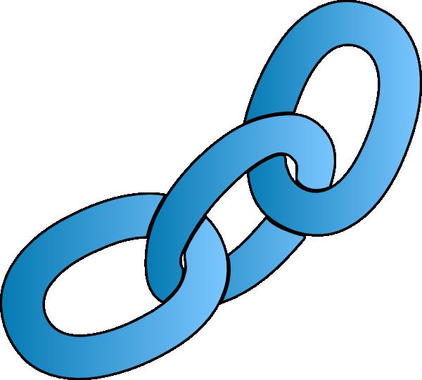 Blue Chain Clip Art at...