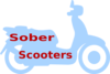 Sober Scooters Logo 2 Clip Art