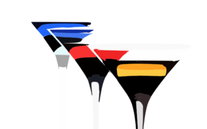 Cocktails Wallpaper Clip Art