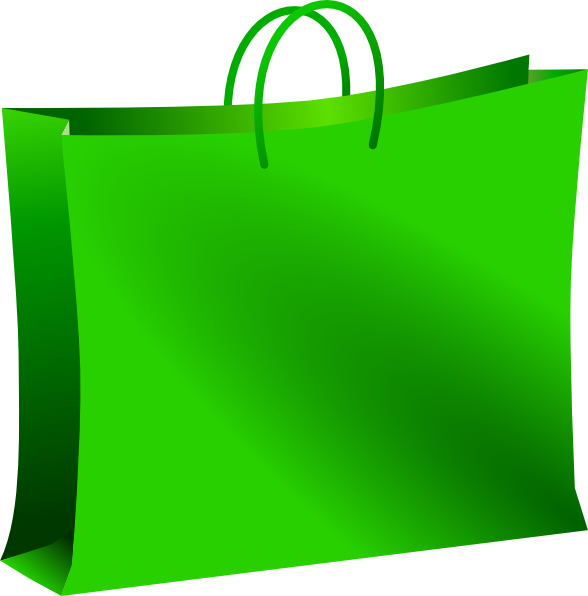 green shopping bag clip art at clker com vector clip art online rh clker com shopping bag clipart transparent shopping bag clipart transparent