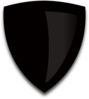 Black Shield Clip Art