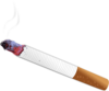 Burning Cigarette Clip Art
