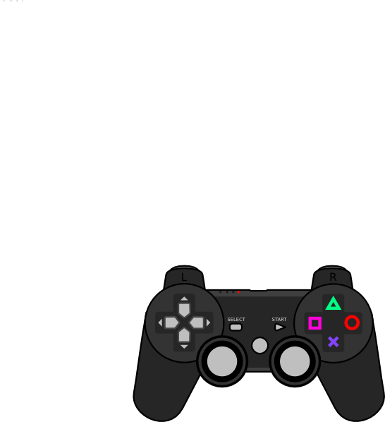 Clip Art Video Game Controller Clip Art controller clip art at clker com vector online royalty download this image as