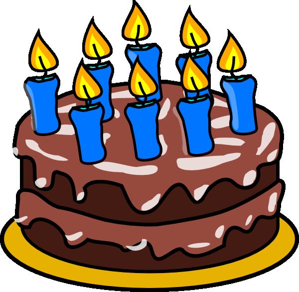 Happy Birthday Clip Art at Clker.com - vector clip art online, royalty free & public ...