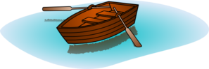 Row Boat With Oars Clip Art