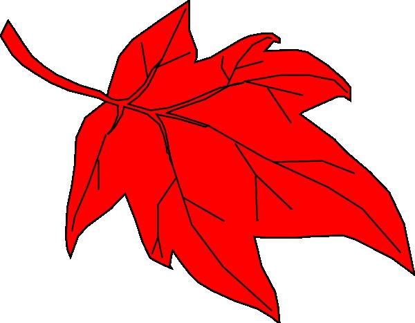 Red Leaf Autumn Clip A...