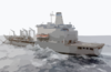The Military Sealift Command Replenishment Oilier Usns Tippecanoe (t-ao 199) Clip Art