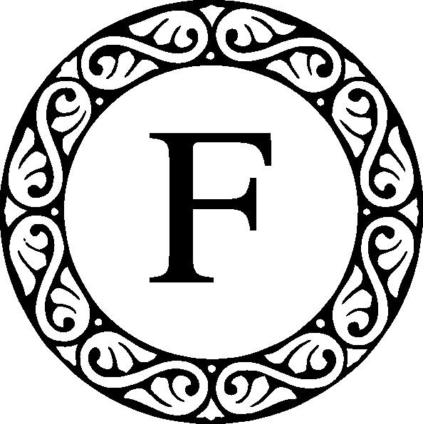 letter f monogram clip art at clker com vector clip art online rh clker com monogram clip art alphabet monogram clip art templates