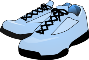 Robin S Egg Blue Shoes Clip Art
