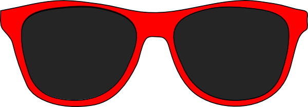 Free Red Sunglasses Cliparts, Download Free Clip Art, Free ...  |Cartoon Red Sunglasses