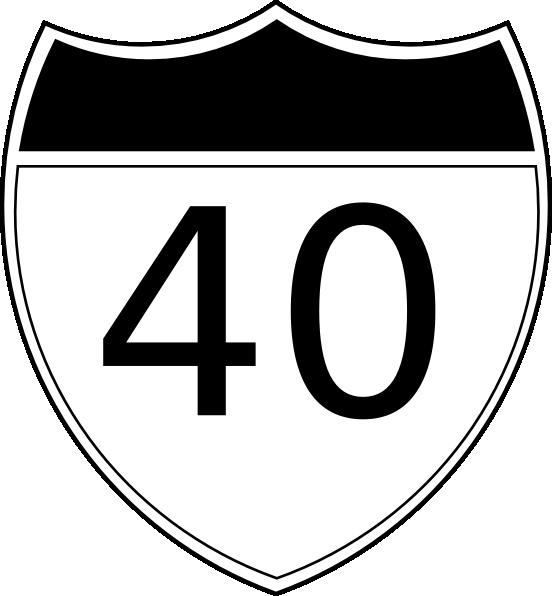 I-40 Clip Art at Clker.com - vector clip art online ...