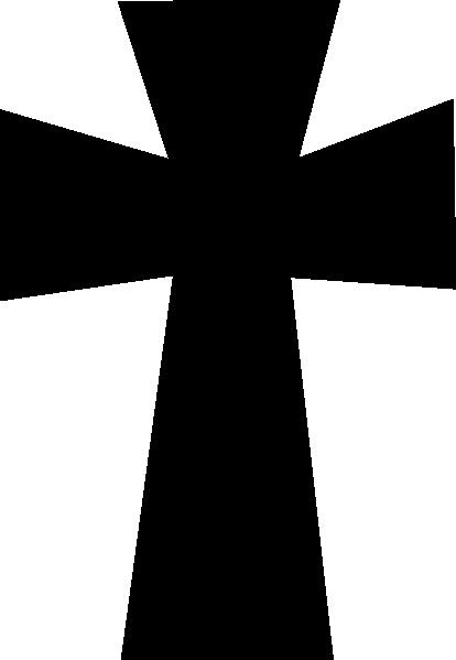 medieval cross black clip art at clker com vector clip art online rh clker com