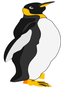 King Penguin Clip Art