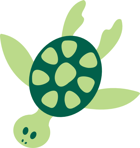 green turtle clip art - photo #19