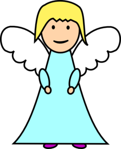angel clip clipart clker cliparts andrea shared vector