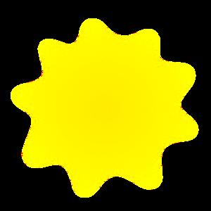 Sonnenstrahlen Clip Art at Clker.com - vector clip art online, royalty ...